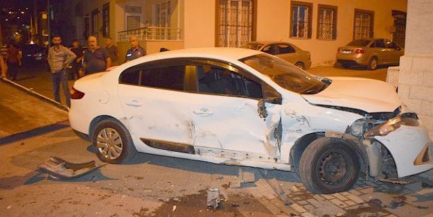 Başharıktaki Kazada 4 Kişi Yaralandı