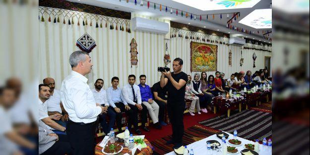 Başkan Çınar, gençleri ağırlardı