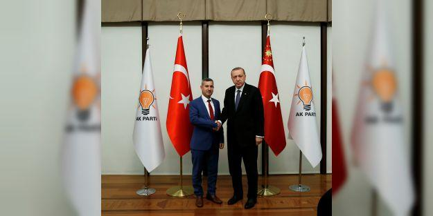 Çınar: 'Cumhurbaşkanımızı bağrımıza basacağız'