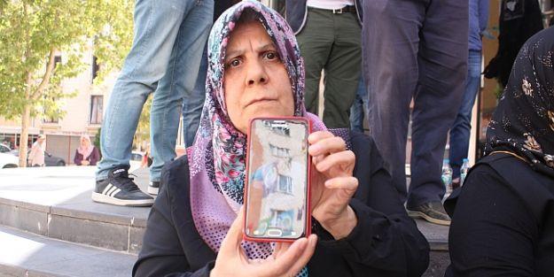 Diyarbakır HDP önündeki eyleme o da katıldı