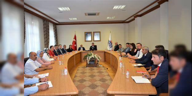Mekânsal Kayıt Sistemi Projesi toplantısı düzenlendi