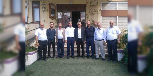 Saadet Partisi heyetinden Arapgir'e ziyaret