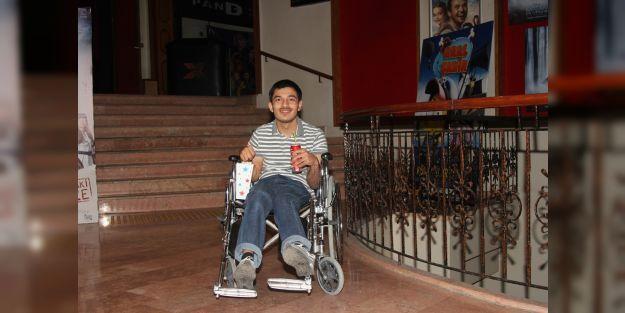 Serebral palsi hastası Alperen'in tek hayali gerçek oldu