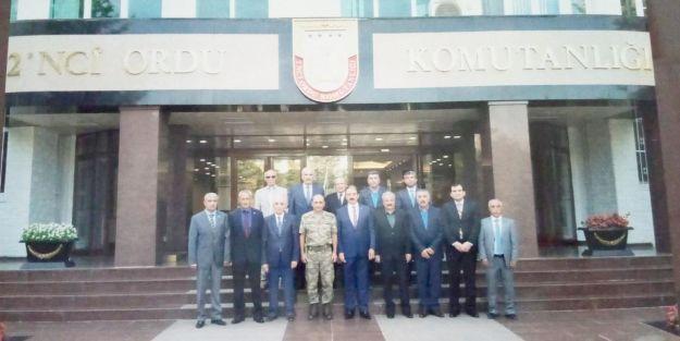 Esnaf Kuruluşlarından 2. Ordu'ya destek ziyareti