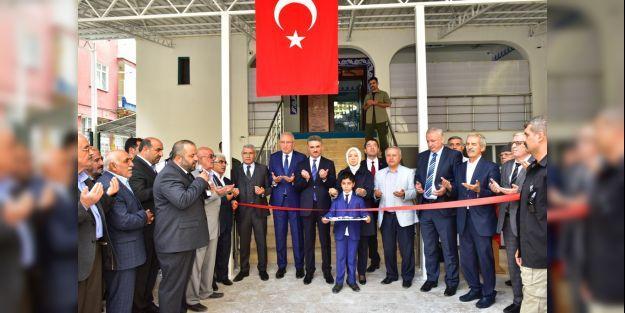 Hacı Abdi Caminin açılışı törenle yapıldı