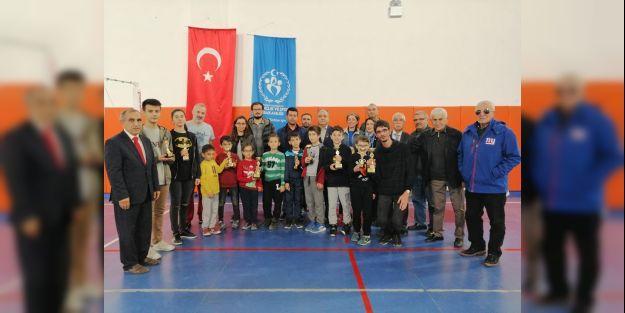 Atatürk'ü Anma Satranç Turnuvası Yapıldı