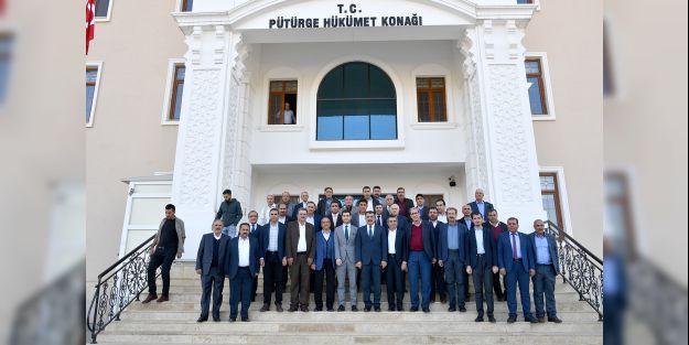 Başkan Gürkan Pütürge ilçesini ziyaret etti