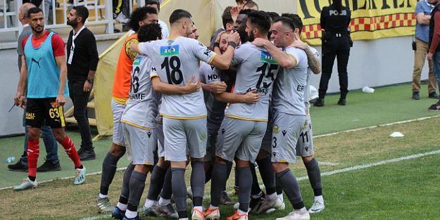 B.Yeni Malatyaspor İzmir'den Puan Çıkardı:1-1