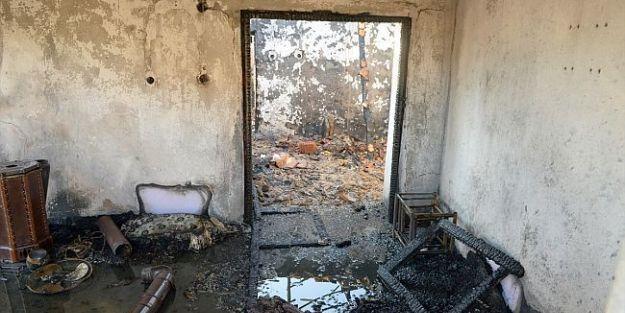 Evde Çıkan Yangında 1 Kişi Hayatını Kaybetti