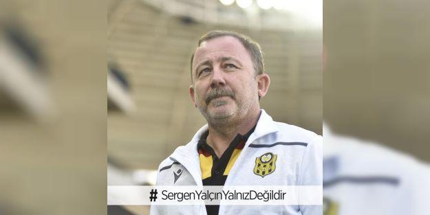 Sosyal medyada Sergen Yalçın'a tam destek