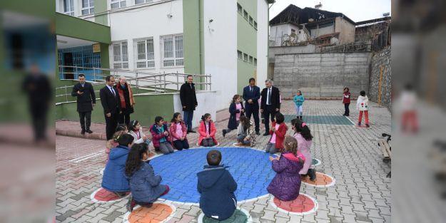 Geleneksel oyunlar okul bahçelerine taşınıyor