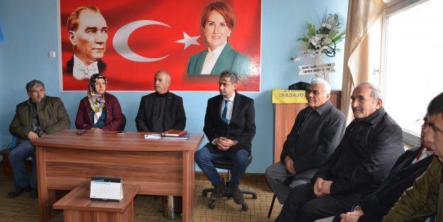 İYİ Parti ilçe toplantılarına devam ediyor