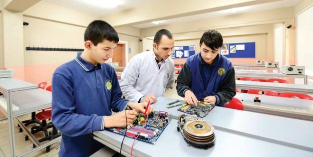 Meslek Liselilere eğitim desteği açıklandı