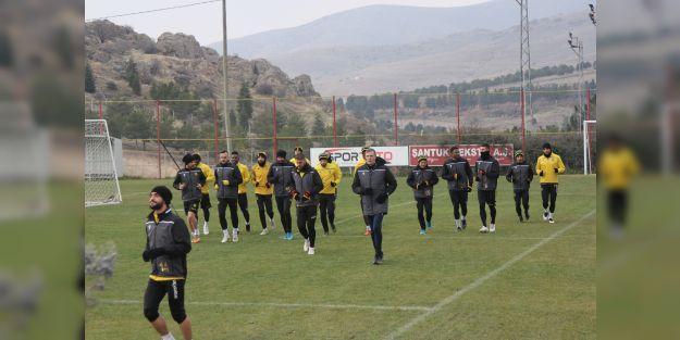 Yeni Malatyaspor, Gaziantep maçının hazırlıklarını sürdürüyor