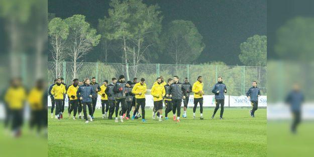 BYMS, Alanyaspor maçına Antalya'da hazırlanıyor