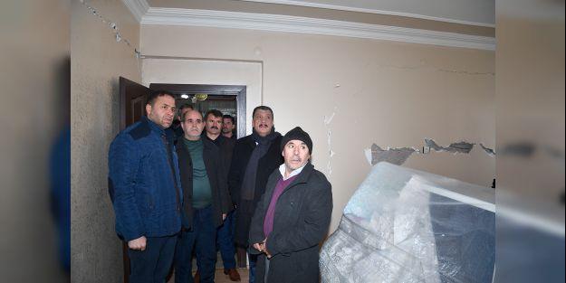 Gürkan, 'Orta ve ağır hasarlı binaların tespitleri yapılacak'