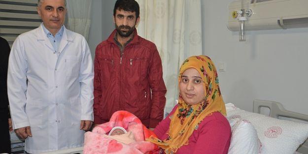 Malatya'da 2020'nin İlk Bebeği