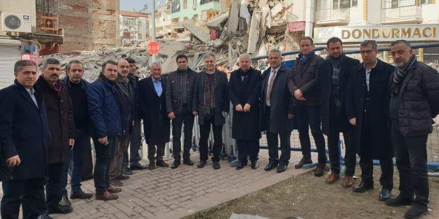 TÜRMOB, Elazığ ve Malatya'da ziyaretlerde bulundu