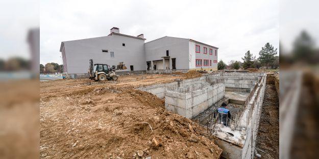 Yeni itfaiye binasının yüzde 70'i tamamlandı