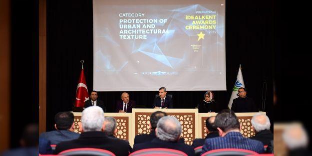Yeşilyurt Belediyesine 'Uluslararası Kentsel ve Mimari Dokunun Korunması' ödülü