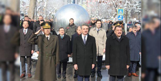 Atatürk'ün Malatya'nın gelişinin 89. yıldönümü kutlandı