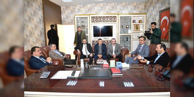 Gürkan'dan BYMS'ye ziyaret