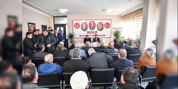 Gürkan'dan, MHP yönetimine ziyaret
