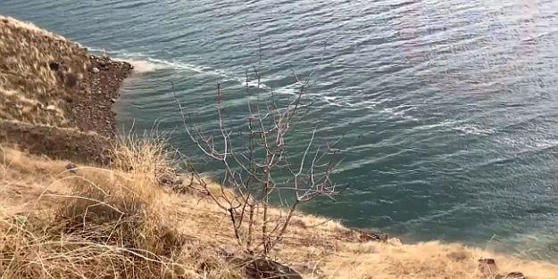 Karakaya Baraj Gölünde Deprem Kırığı