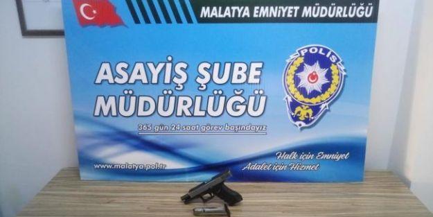 Polis Firari Yakaladı, Silah ve Uyuşturucu Ele Geçirdi