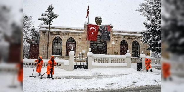 'Şimdiye kadar Malatya'da böyle yoğun kar yağışı görülmedi'