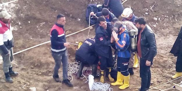 Kuyuda Metan Gazı Zehirledi, Öldürdü
