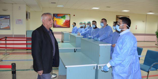 TÖTM de 'Pandemi' Hastanesi Oldu