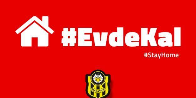 Yeni Malatyaspor'dan 'evde kal' mesajı