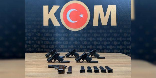 Silah ticareti operasyonunda 1 şüpheli tutuklandı