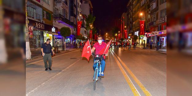 Bisiklet sürme etkinliği düzenledi