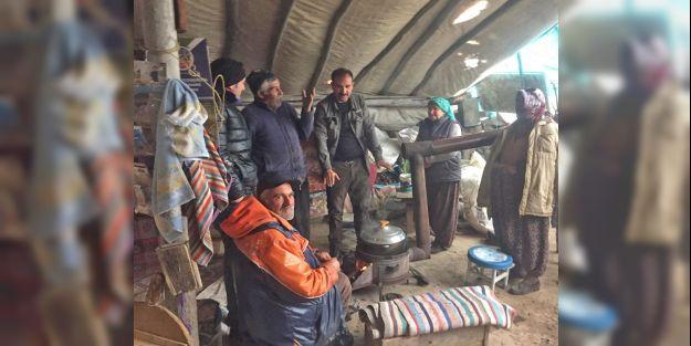 Mahsur kalan yaylacıları belediye ekipleri kurtardı