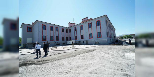 Yeni itfaiye merkezi açılışa hazır
