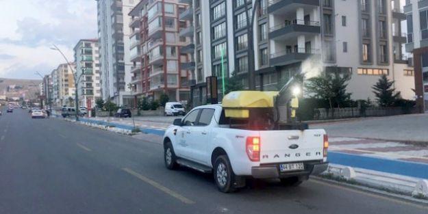 Büyükşehir Belediyesi haşere ile mücadele çalışması sürdürüyor