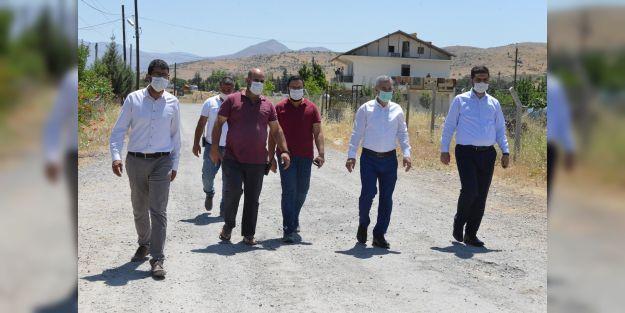 Başkan Çınar, çalışmaları yerinde inceledi