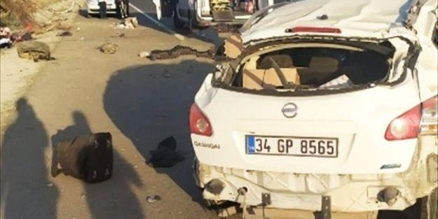 Elazığ Yolundaki Kazada 1 Ölü, 3 Yaralı