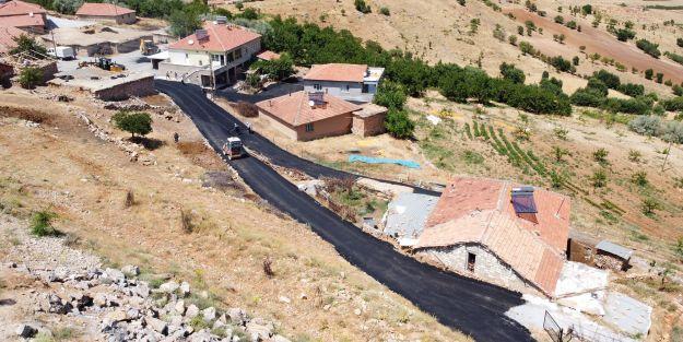 Kırsal mahallelerde ara sokaklar asfaltlandı