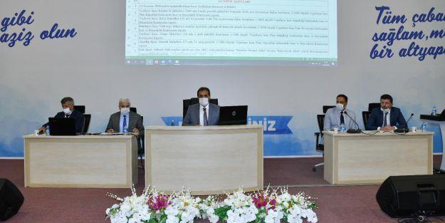 Büyükşehir Belediye Meclisi Ağustos ayı toplantılarına başladı