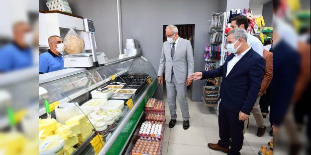 Bostanbaşı Yeşil Gıda Marketin açılışı yapıldı