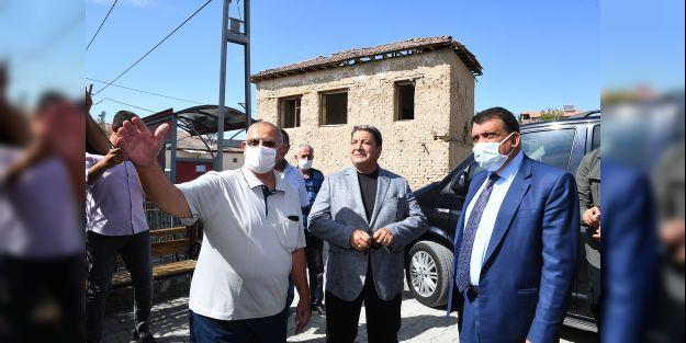 Gürkan ve Fendoğlu'ndan Bulgurlu'ya ziyaret