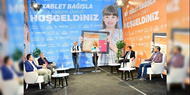1161 adet tablet bağışı yapıldı
