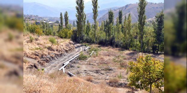 500 dekar tarım arazisi kapalı sistemle sulanacak