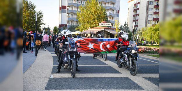 Çocuklar için motosiklet turu düzenlendi