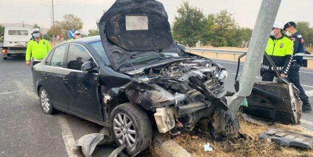 Elazığ- Malatya Yolundaki Kazada 1 Ölü, 2 Yaralı