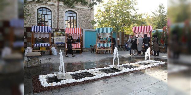 Hanımeli Pazarı Gazi Park'ında hizmete açıldı