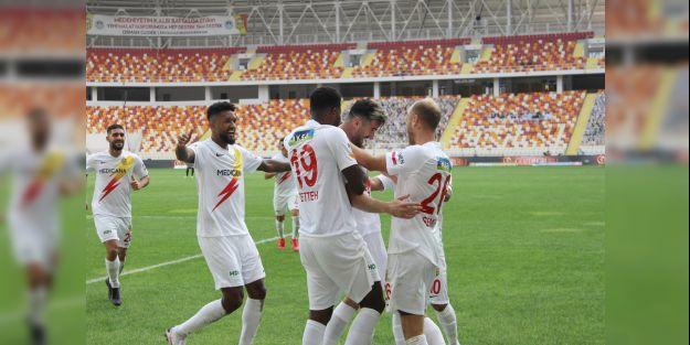Yeni Malatyaspor bu sezonki ikinci galibiyetini aldı